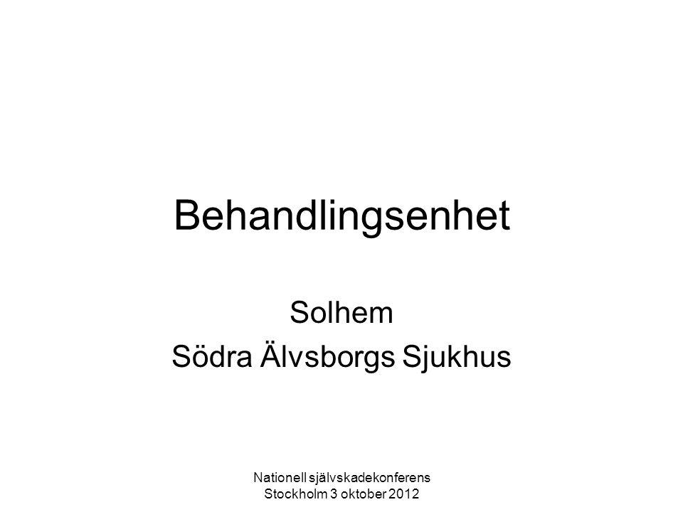 Solhem Södra Älvsborgs Sjukhus