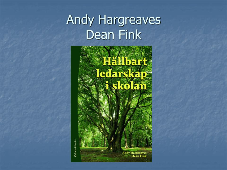 Andy Hargreaves Dean Fink