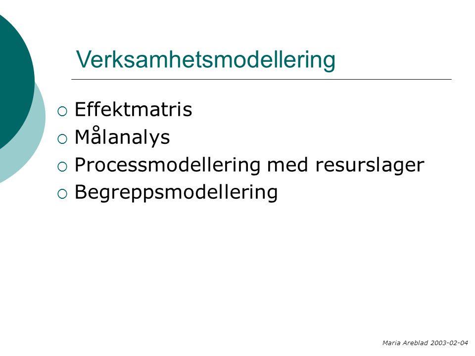 Verksamhetsmodellering