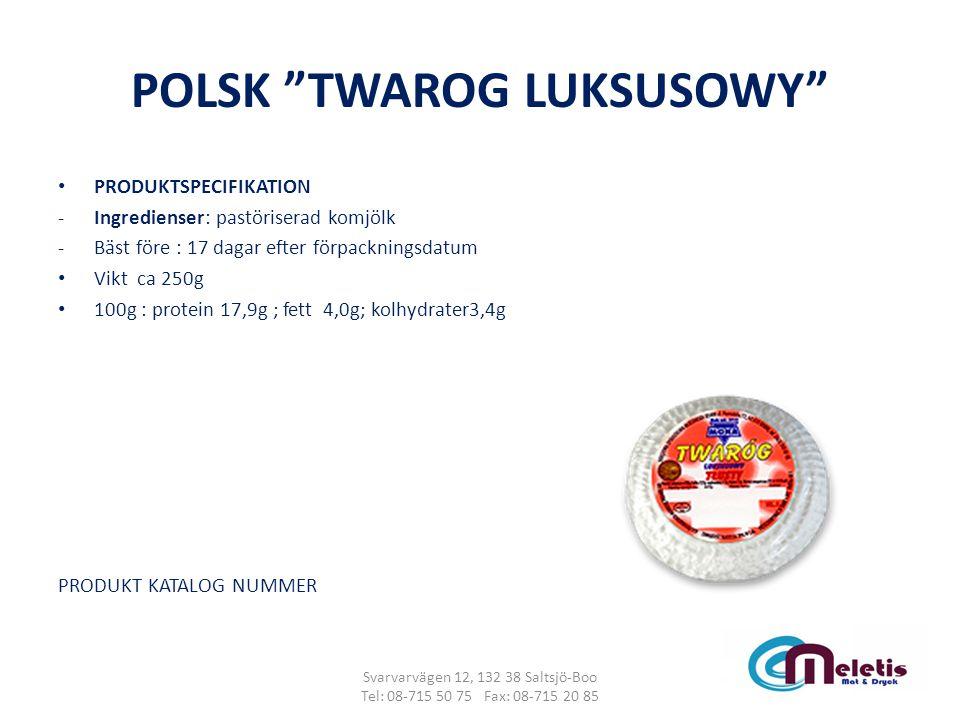 POLSK TWAROG LUKSUSOWY