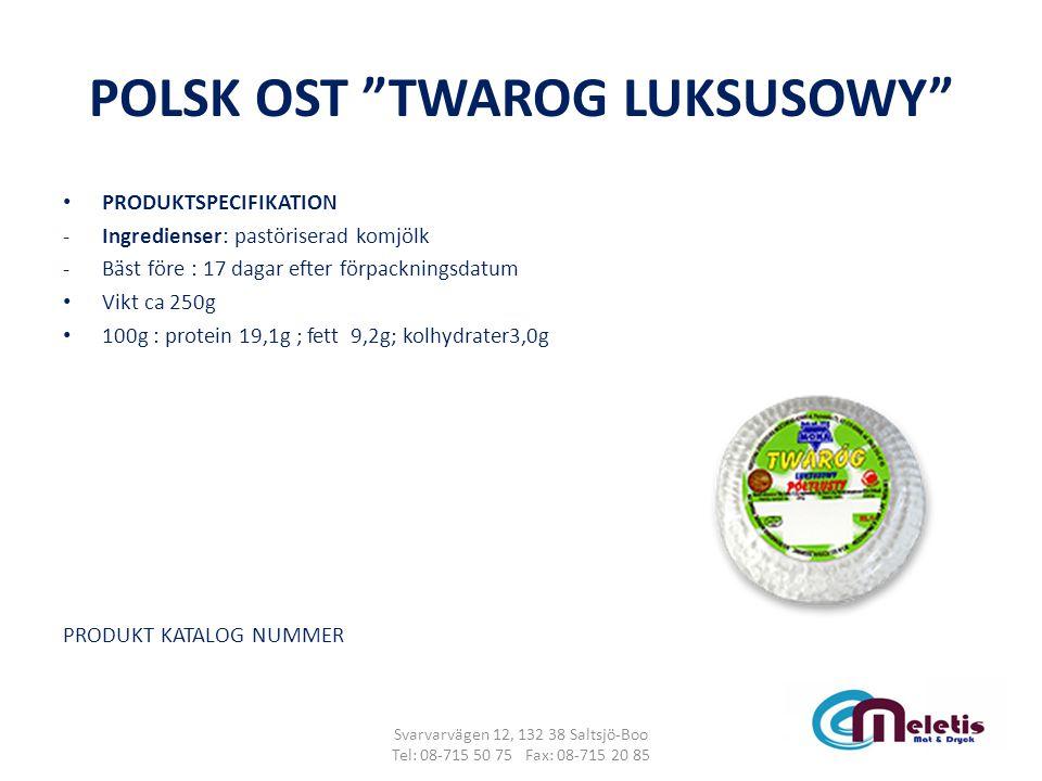 POLSK OST TWAROG LUKSUSOWY