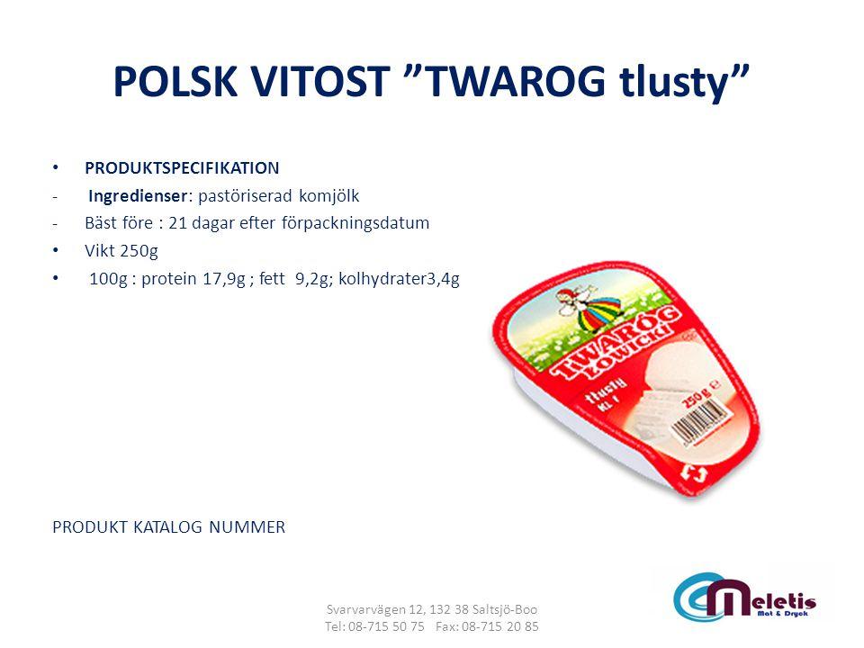 POLSK VITOST TWAROG tlusty