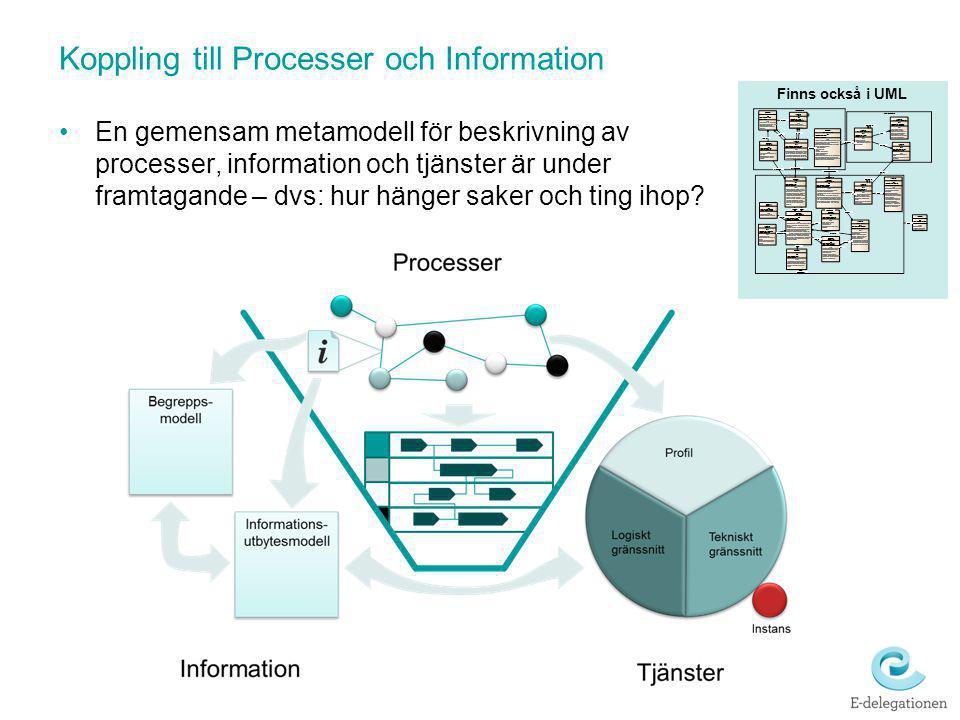 Koppling till Processer och Information