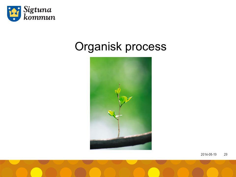 Organisk process 2017-04-05