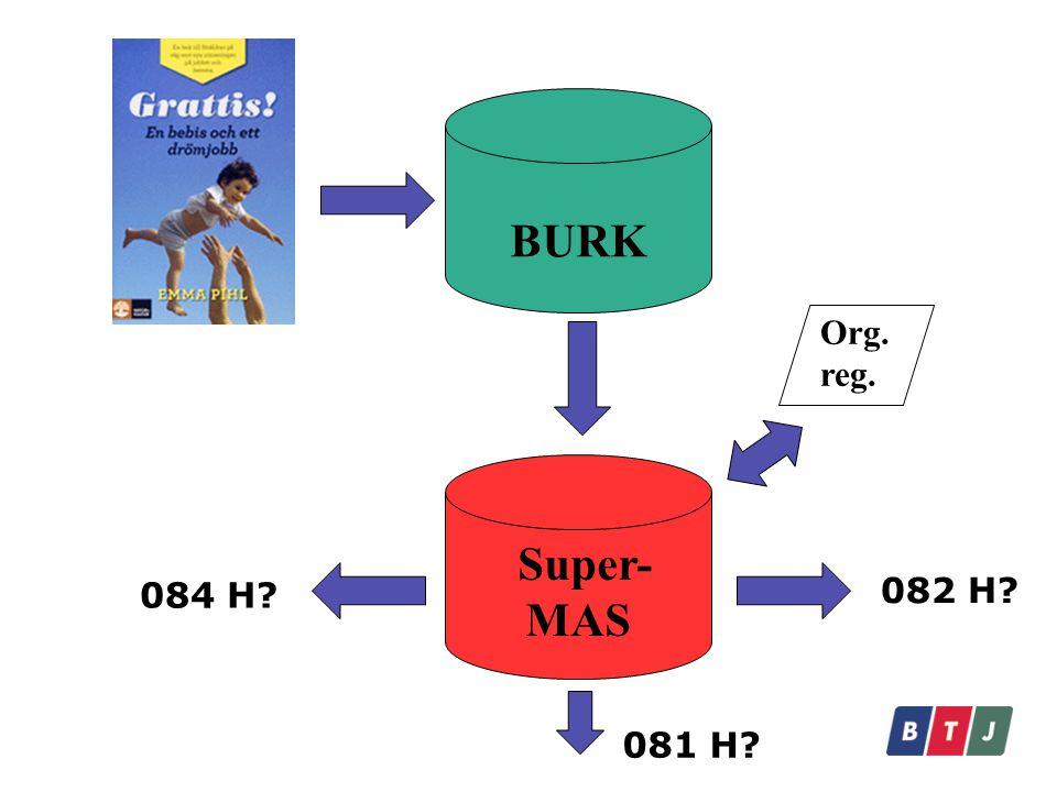 BURK Super-MAS Org. reg. 082 H 084 H 081 H