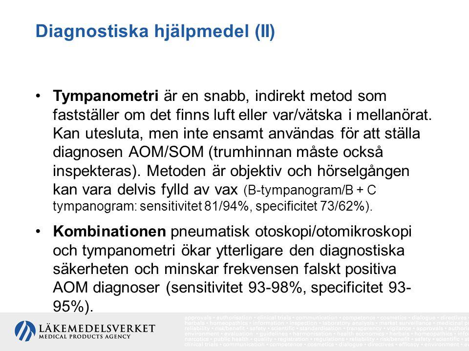 Diagnostiska hjälpmedel (II)