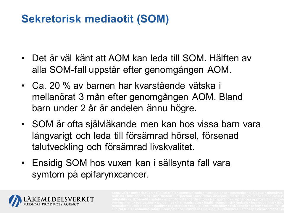 Sekretorisk mediaotit (SOM)
