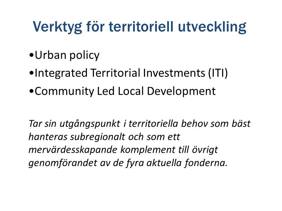 Verktyg för territoriell utveckling