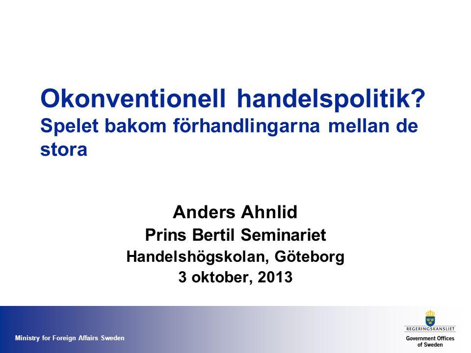 Prins Bertil Seminariet Handelshögskolan, Göteborg