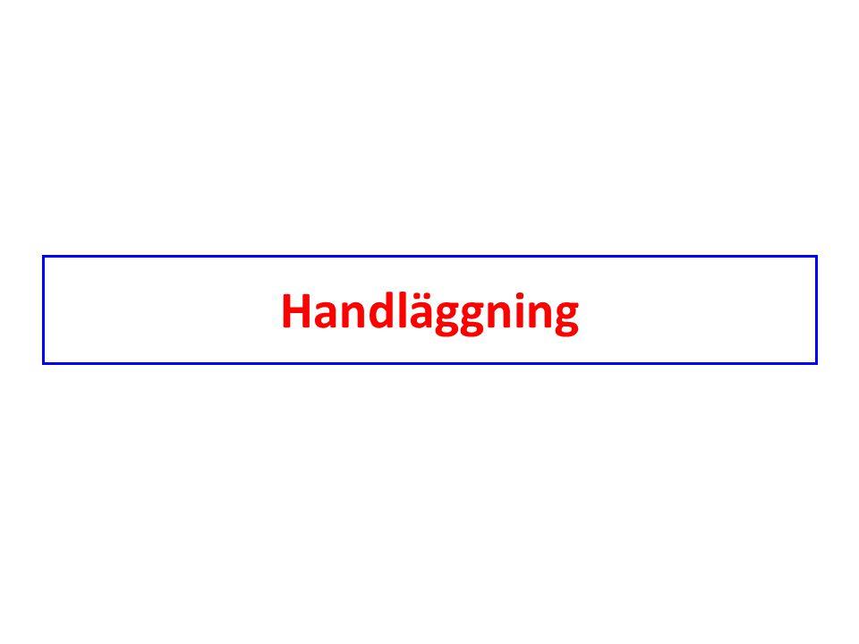 Handläggning