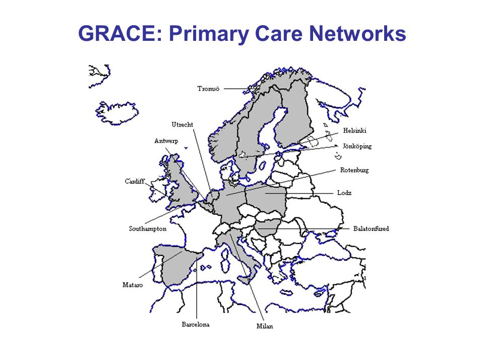 GRACE: Primary Care Networks