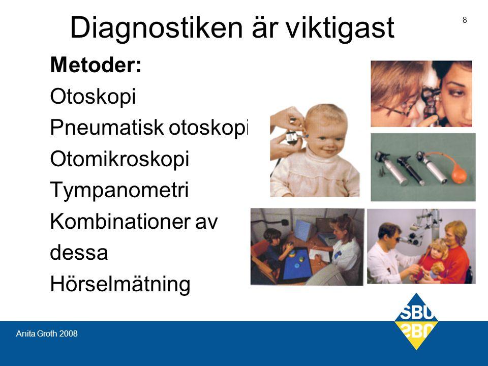 Diagnostiken är viktigast