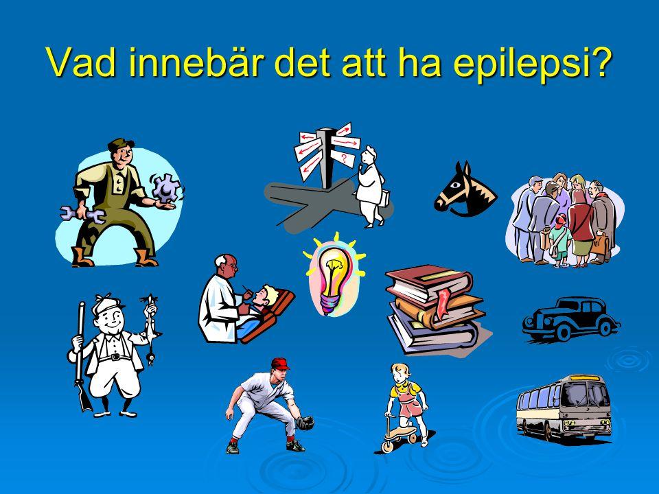 Vad innebär det att ha epilepsi