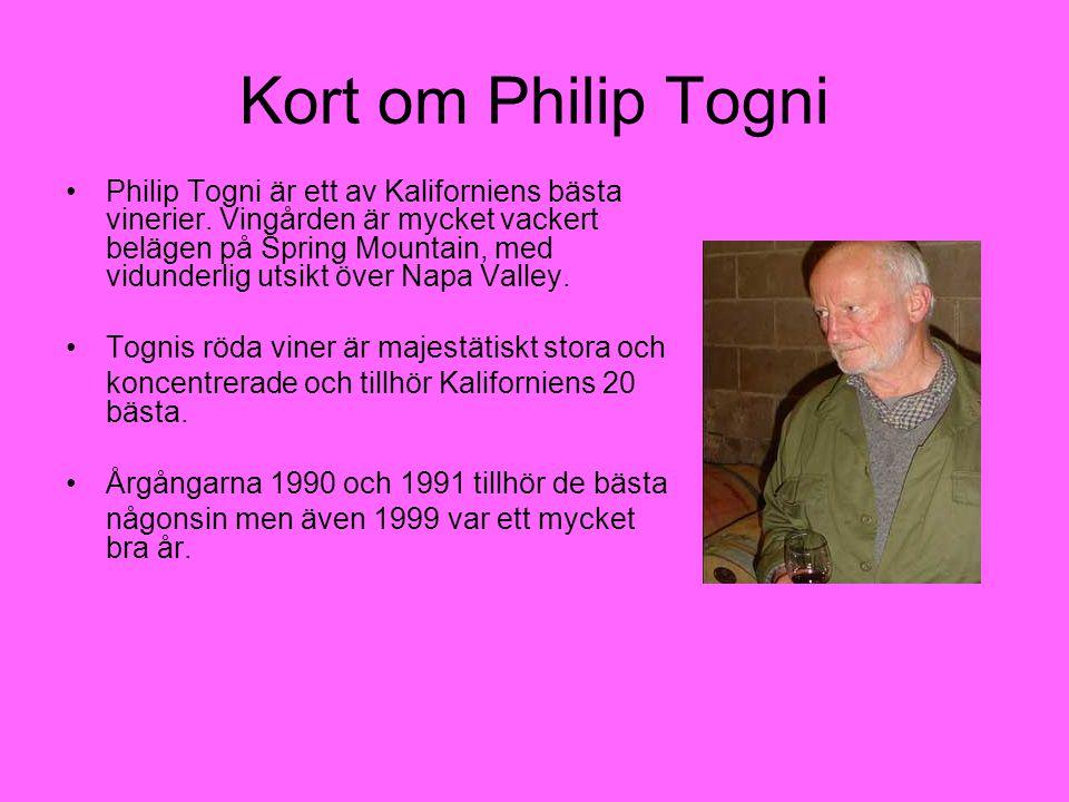 Kort om Philip Togni