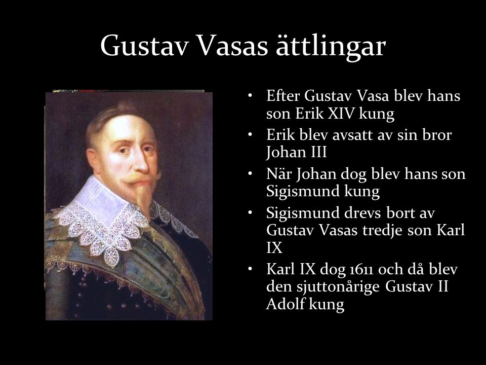 Gustav Vasas ättlingar
