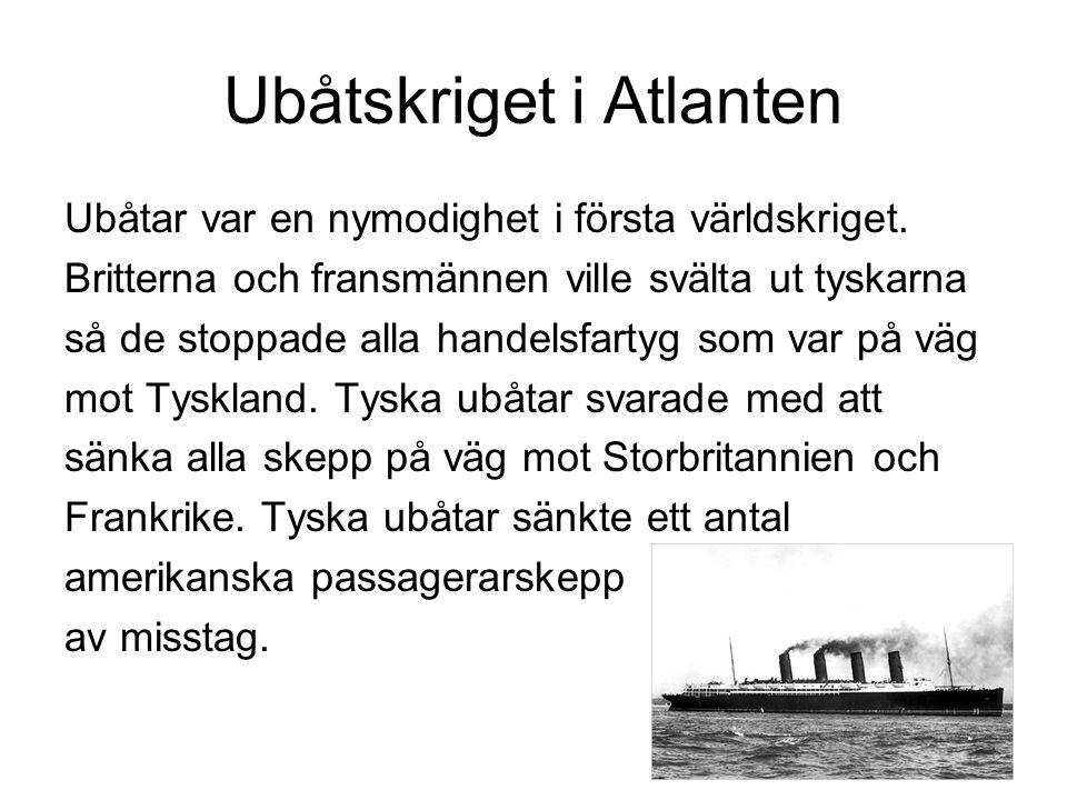 Ubåtskriget i Atlanten