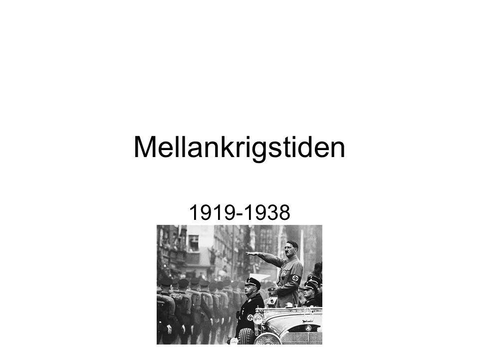 Mellankrigstiden 1919-1938