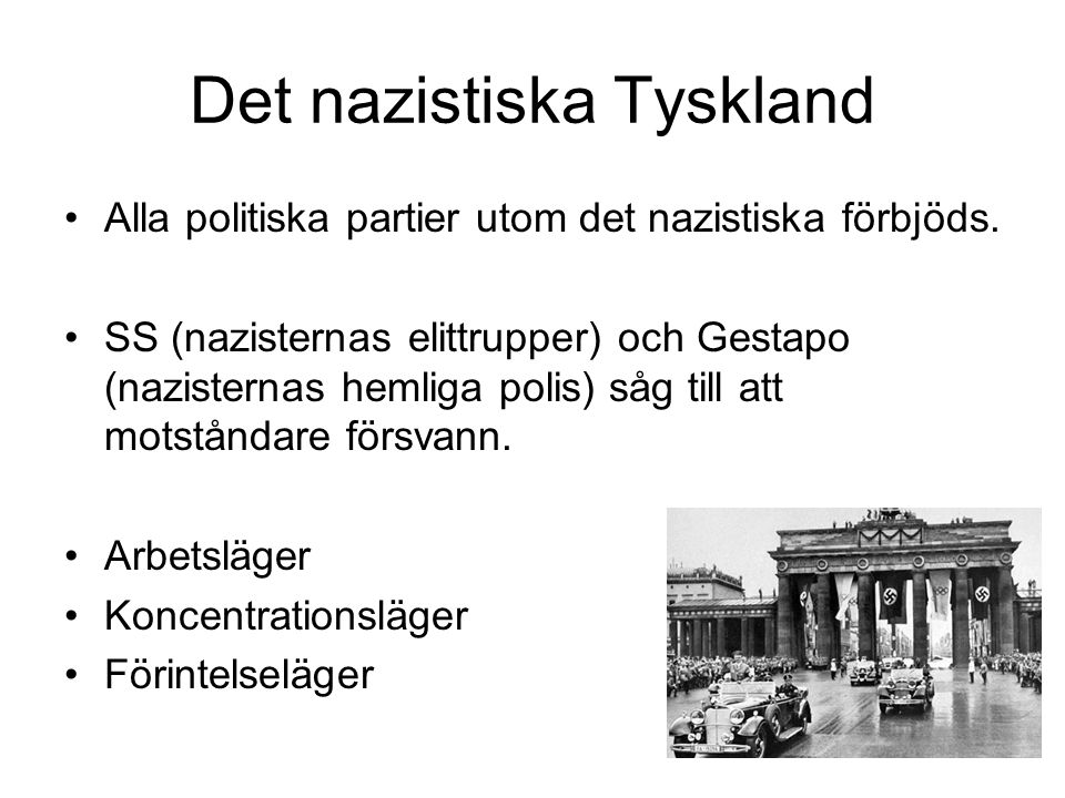 Det nazistiska Tyskland
