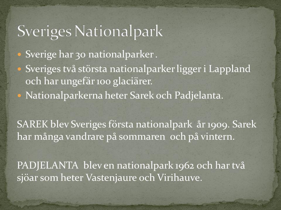 Sveriges Nationalpark