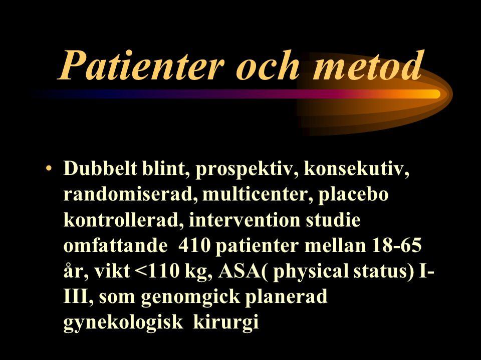 Patienter och metod