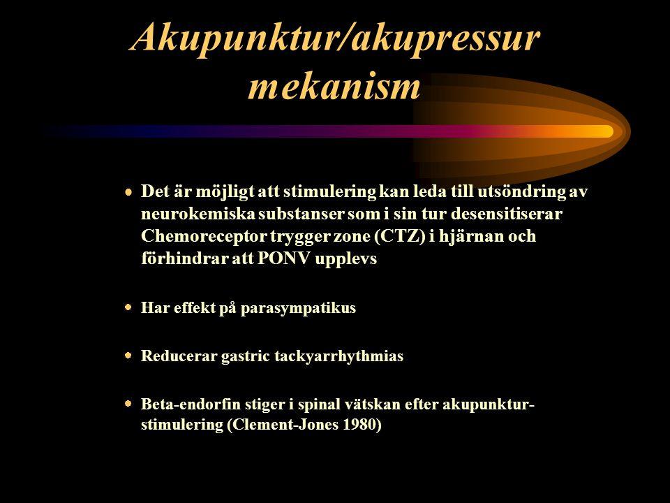 Akupunktur/akupressur mekanism
