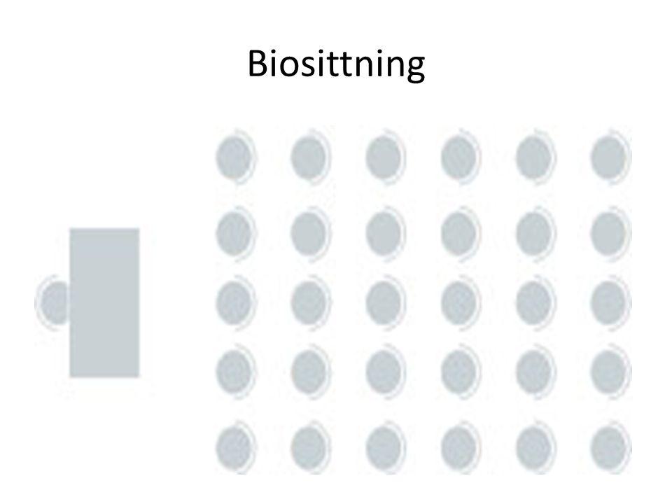 Biosittning