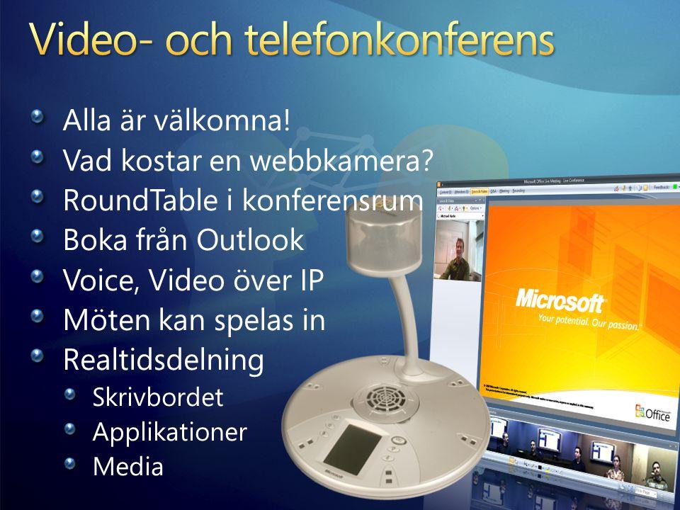 Video- och telefonkonferens