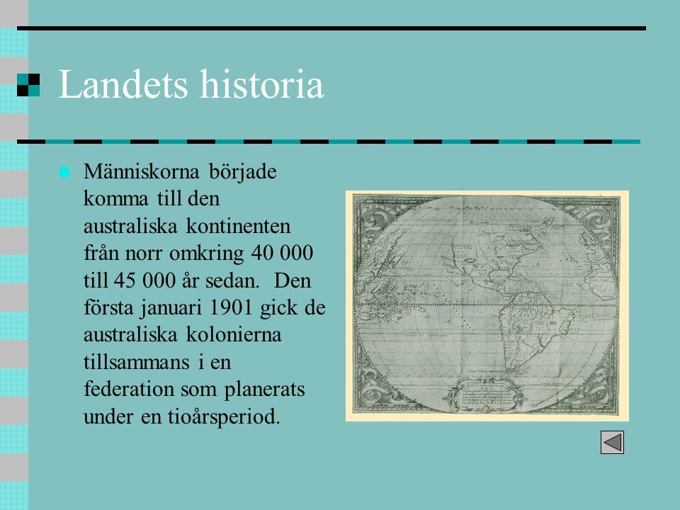 Landets historia
