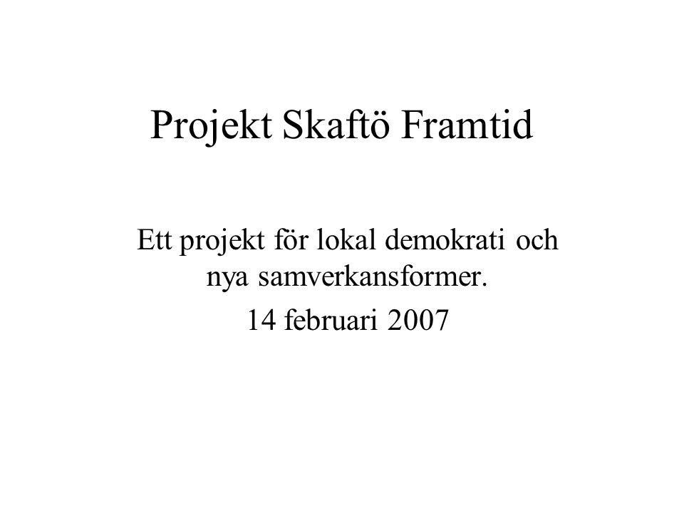 Projekt Skaftö Framtid