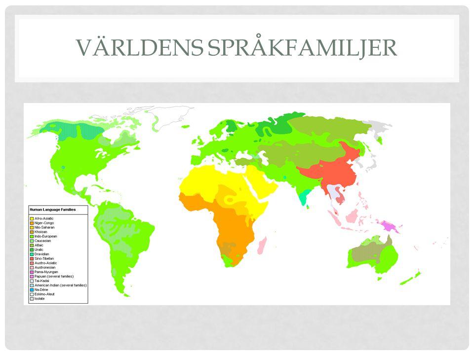 Världens språkfamiljer