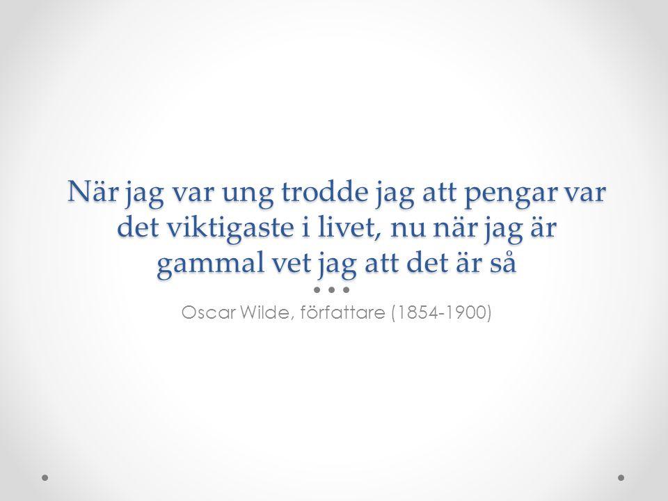 Oscar Wilde, författare (1854-1900)