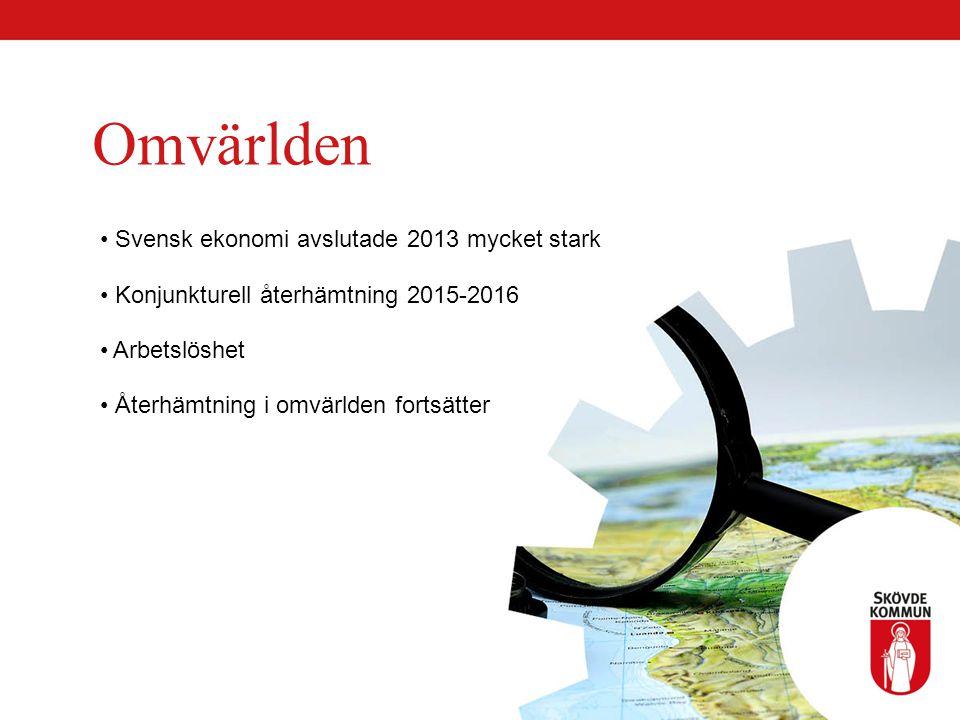 Omvärlden Svensk ekonomi avslutade 2013 mycket stark