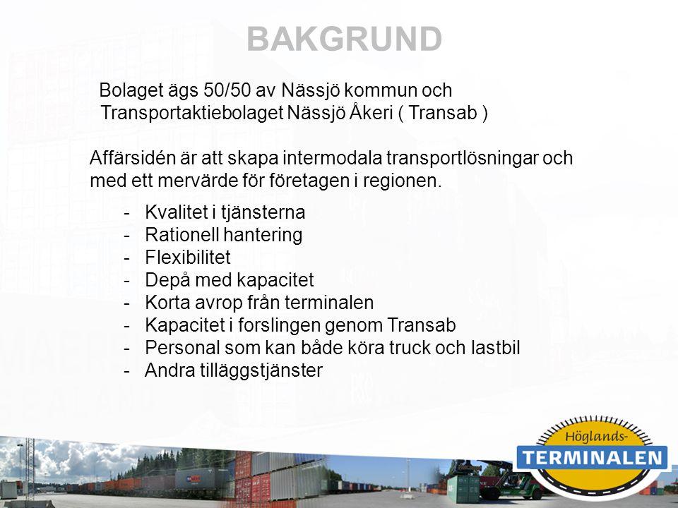 BAKGRUND Transportaktiebolaget Nässjö Åkeri ( Transab )