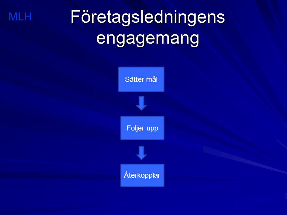 Företagsledningens engagemang
