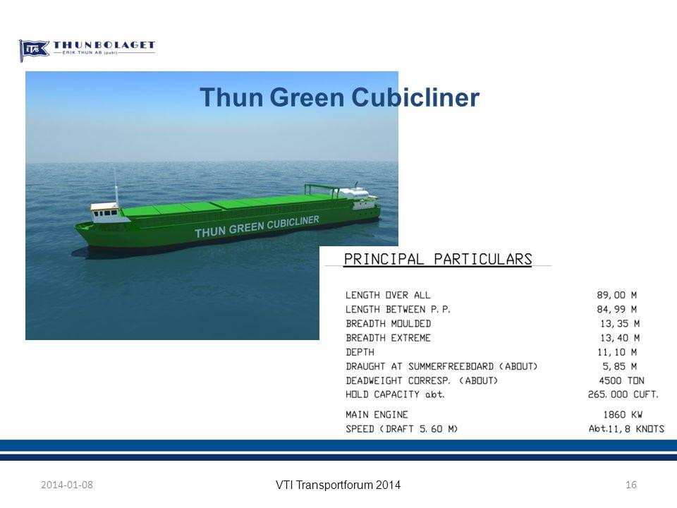Thun Green Cubicliner 2014-01-08 VTI Transportforum 2014