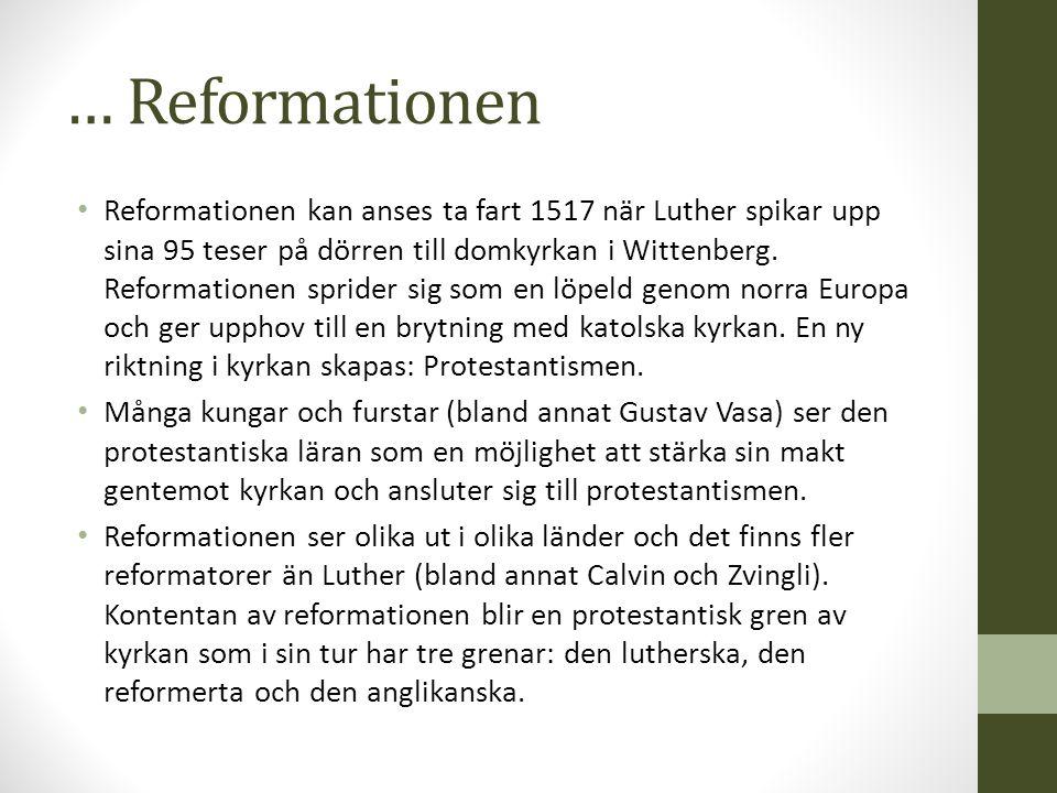 … Reformationen