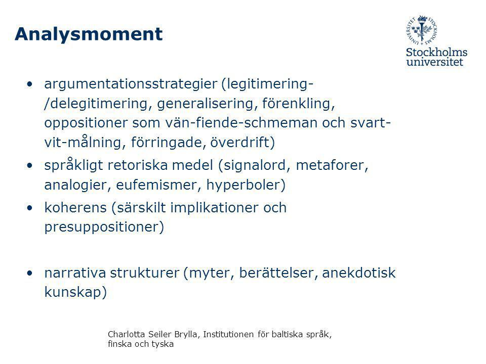 Analysmoment