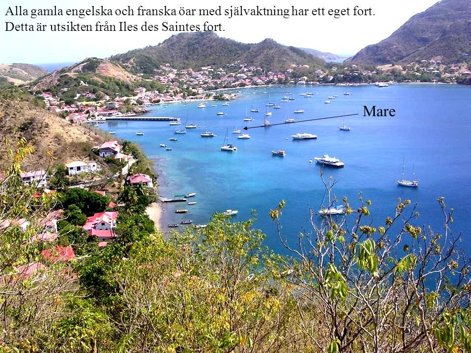 Alla gamla engelska och franska öar med självaktning har ett eget fort