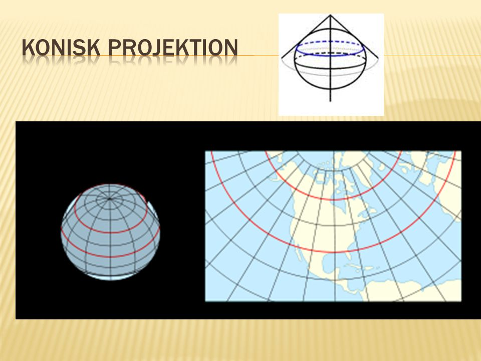 Konisk projektion