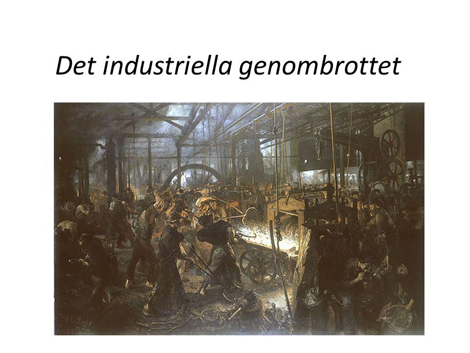 Det industriella genombrottet