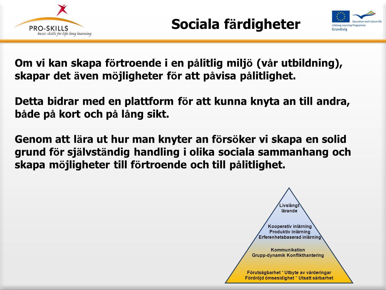 Sociala färdigheter 12