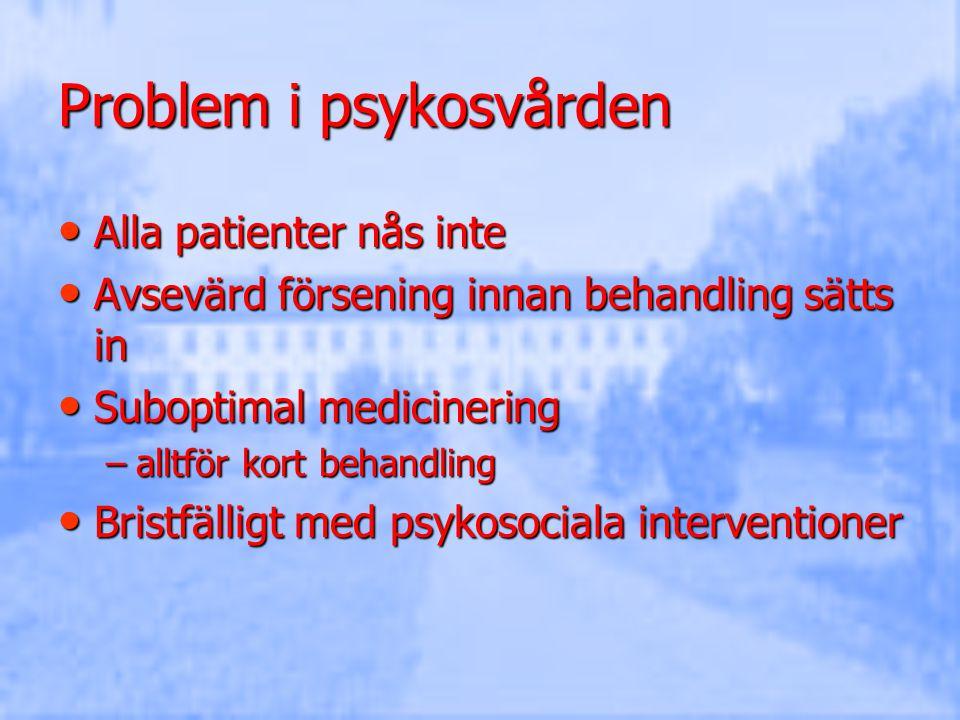 Problem i psykosvården