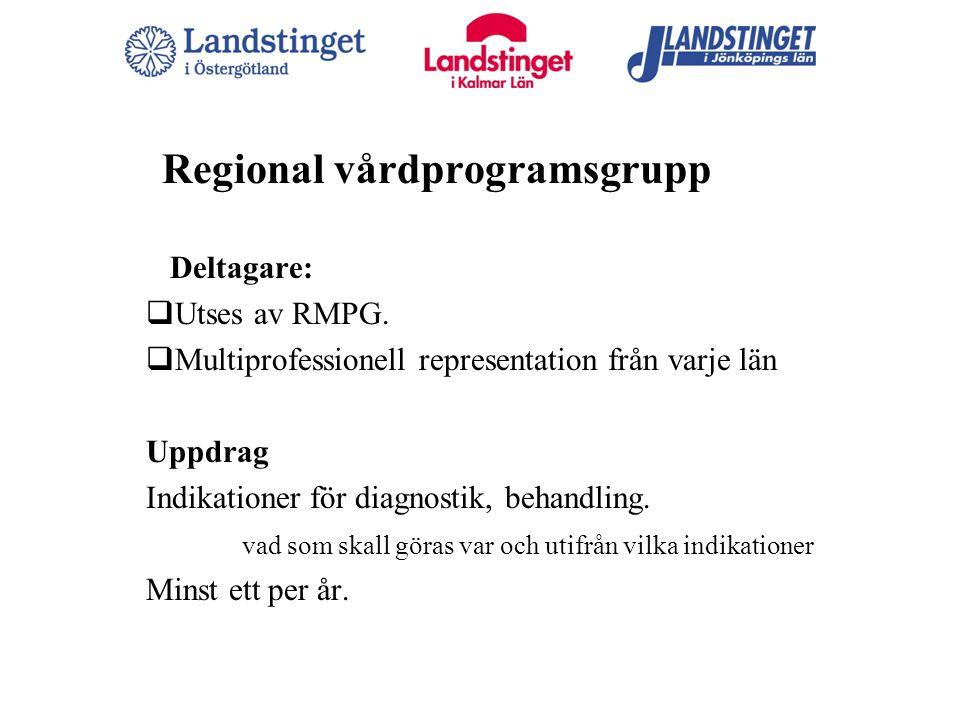 Regional vårdprogramsgrupp
