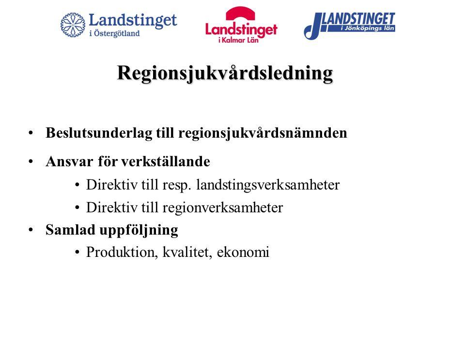 Regionsjukvårdsledning