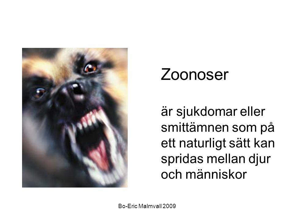 Zoonoser är sjukdomar eller smittämnen som på ett naturligt sätt kan spridas mellan djur och människor.
