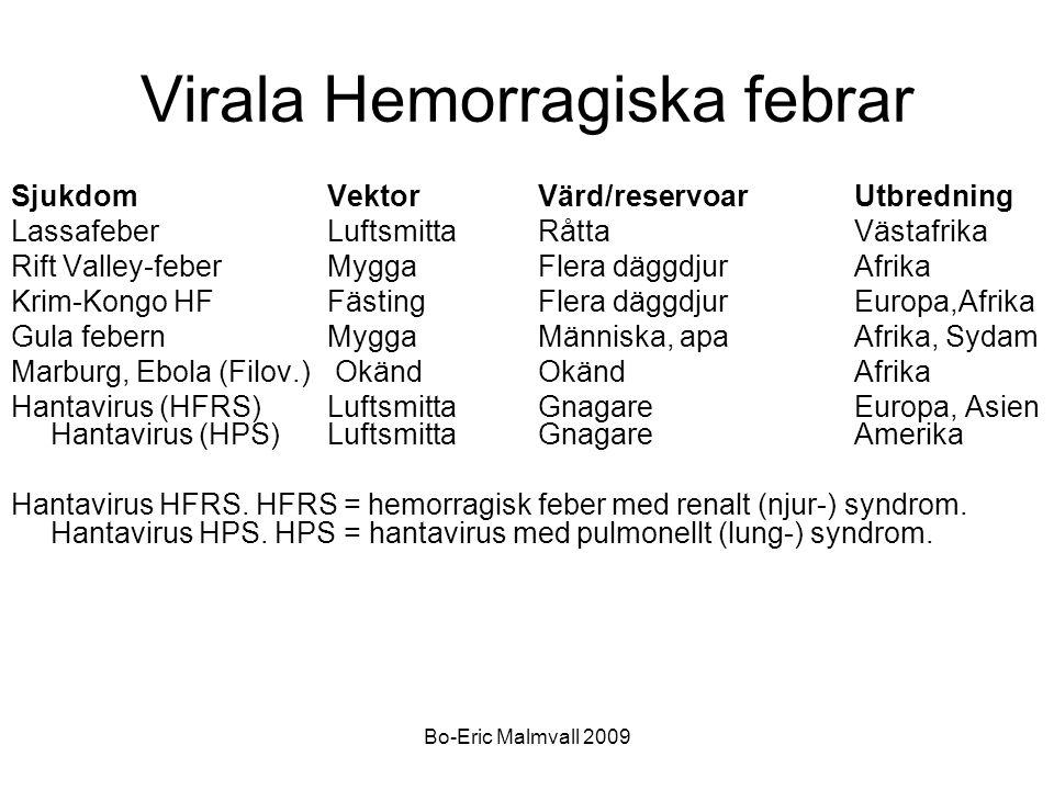 Virala Hemorragiska febrar