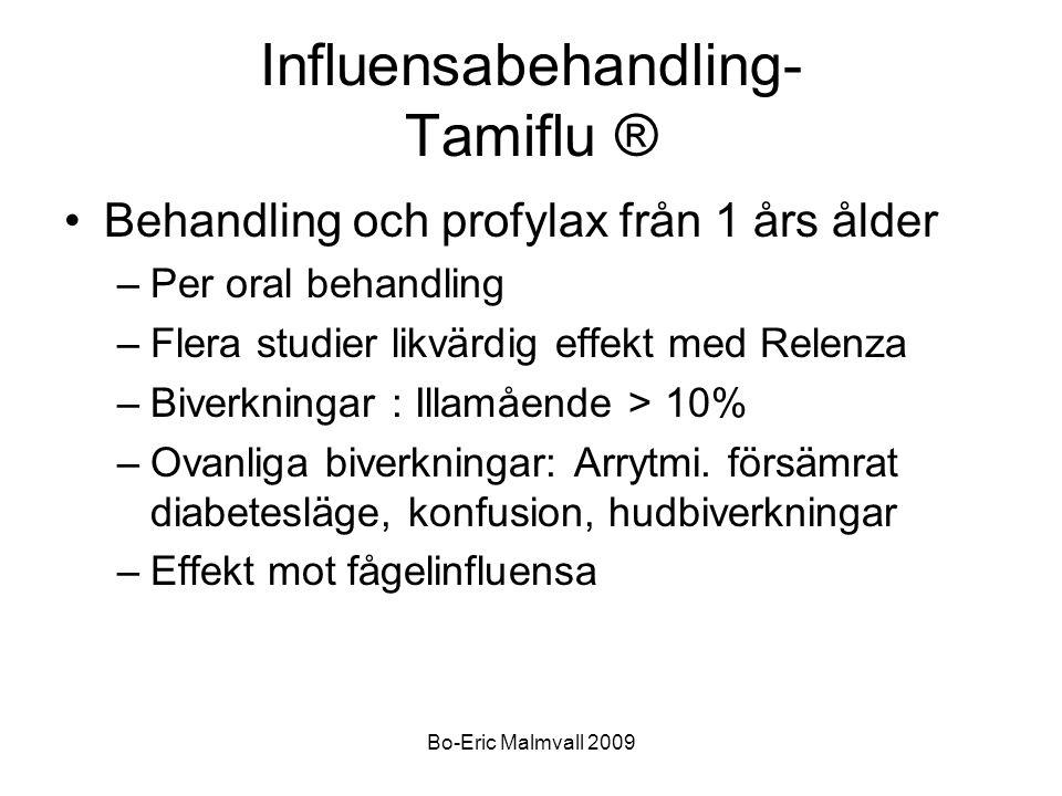 Influensabehandling- Tamiflu ®