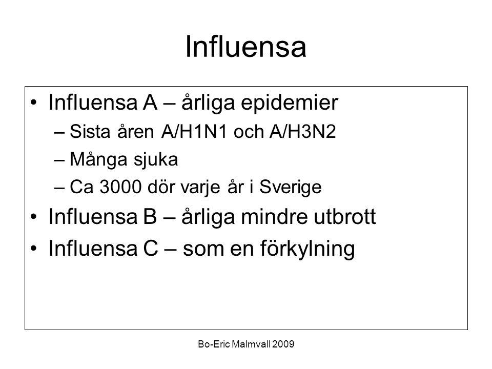 Influensa Influensa A – årliga epidemier