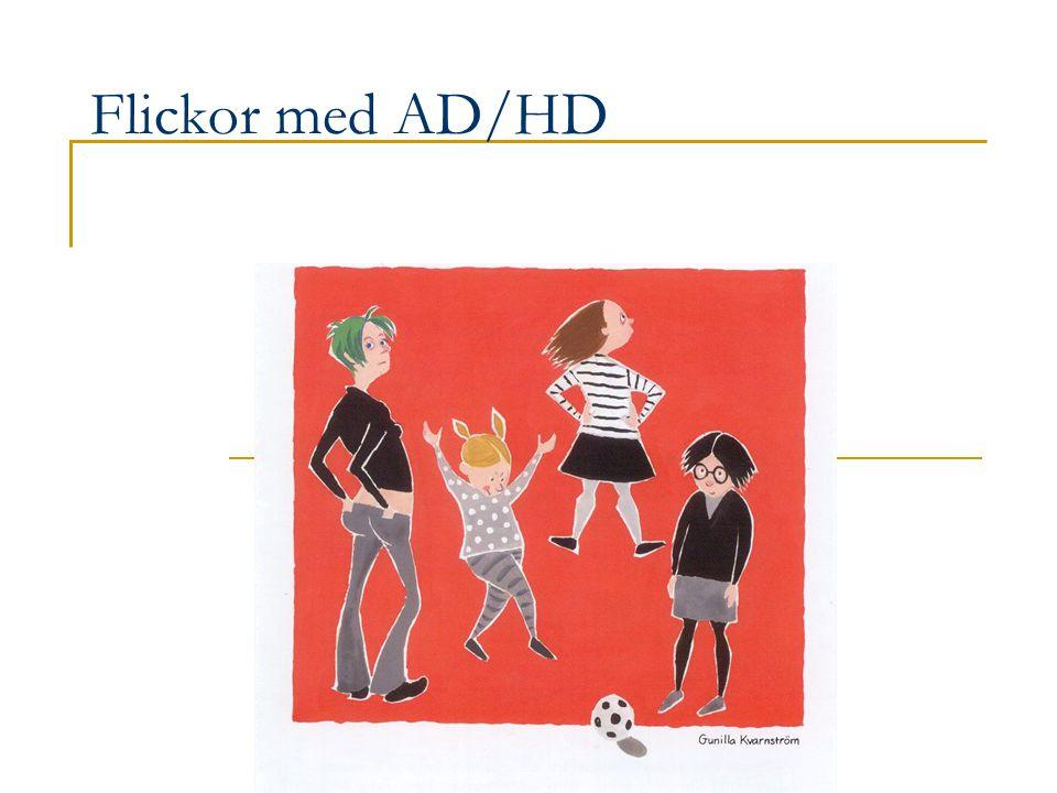 Flickor med AD/HD
