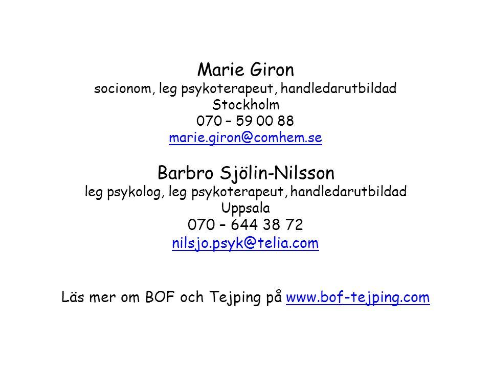 Barbro Sjölin-Nilsson
